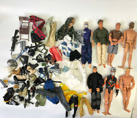"1990s 12"" Action Man Figure Doll Weapons Accessories GI Joe M&C Formative Lot 19"