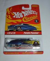 2004 HOT WHEELS CLASSICS SERIES 1 PURPLE PASSION BLUE # 20 OF 25