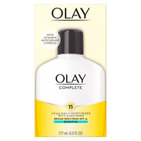 Olay Complete All Day Moisturizer Sensitive Skin - SPF 15 6oz EXP: 5/21 & Up
