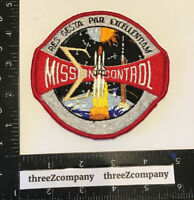 Vtg NASA Mission Control Space Shuttle Patch