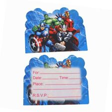 10pcs/Avenger Supplies Invitation Card Baby Shower Card Birthday Party Wedding D