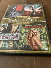 4-Movie Thrills & Chills Collection Vol. 4 (DVD) Zombie Strippers  +++  NEW