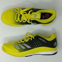 best authentic eed4b bac56 Adidas Womens Crazyflight X Volleyball Shoes YellowBlack BA9267 NEW