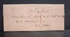 PLI adressé à un COMTE sur la mort d'un autre COMTE - TEXTE du 16 Mai 1822