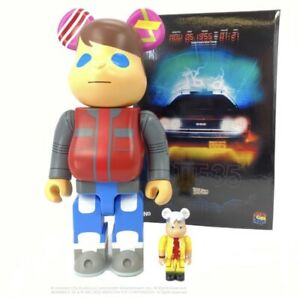 Back To The Future 100% 400% Bearbrick Marty Be@rbrick DCON 2020 BTTF NEW SEALED