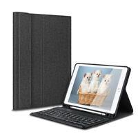 Für Apple iPad 9.7 5th/6th 2017/2018 Bluetooth Tastatur Hülle Tasche Case QWERTZ