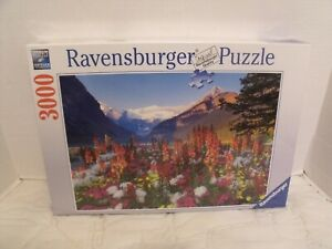 Ravensburger Flowery Mountains No 17 061 6 Jigsaw Puzzle 3000 Pieces  NEW SEALED