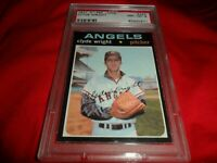 1971 OPC O-pee-chee Topps #240 Clyde Wright California Angels NM MINT PSA 8