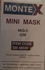 Montex Mask Set for Icm Mig-3 1/48