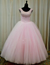 NEW Princess by Mary's Sweet 16 Prom Quinceanera Dress 4Q961 Baby Pink Size 10