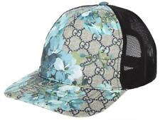 NEW GUCCI ORIGINAL GG BLOOMS MESH BACK CURRENT BASEBALL HAT CAP 58/M UNISEX