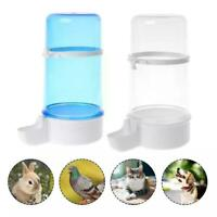 Automatic Bird Feeder Parrot Dispenser Water Feeding K Food U Drinking Bowl O8S0
