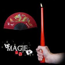 Bougie en éventail - Transformation - Tour de magie - Scène