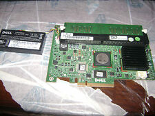 Dell PowerEdge 1950/2950 PERC 5i RAID Controller Card w/512MB BBU XT257 MN985