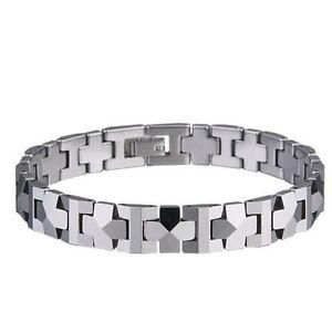 """""""PYRAMID"""" Tungsten Carbide Men's Bracelet. Our #1 Best Seller"""