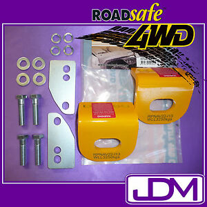 NISSAN NAVARA D22 - PAIR OF ROADSAFE 4WD TOW POINTS