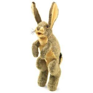 Folkmanis Jack Rabbit Hand Puppet