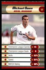 Match - Champions League Trump Cards (2004) Michael Owen (Liverpool)