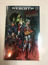 Suicide Squad DC Universe Rebirth (2016) # 1 (NM) Convention Foil Cover Jim Lee