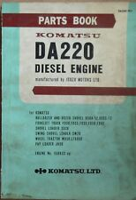 Komatsu Diesel Motor DA 220 Ersatzteilkatalog
