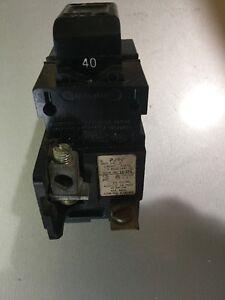 40 amp 240 volt Push-a-Matic breaker P240