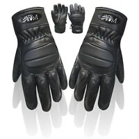 Motorbike Motorcycle sports Gloves with knuckle protection cow Napa leather 9005