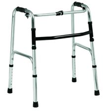 ECWF01 Lightweight folding walker - adjustable height, weighs only 4.8lbs