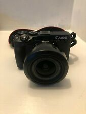 Canon EOS M6 MkII black + Canon 11-22mm f4/5.6 lens with Macro capability