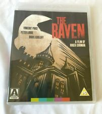The Raven - Blu-Ray - Arrow Video - Special Edition Contents - SEALED -(ROM)