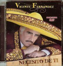 VICENTE FERNANDEZ - NECESITO DE TI - DVD - USED
