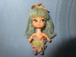 "vintage Hasbro doll Flower Darlings 1968 Violet 3"" rare"