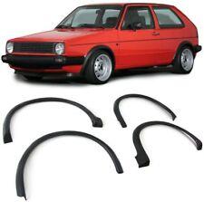 WHEEL ARCH FENDER FLARES ABS MOULDING TRIM VW GOLF MK2 II 2 08/1983 - 07/1987