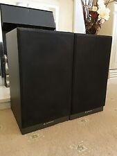 Hitachi SS-03 30 Watt Hi-Fi Speakers x 2, *Damaged, Spares/Repair*
