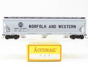 HO Scale Accurail 2020 N&W Norfolk & Western ACF 3-Bay Covered Hopper #70364