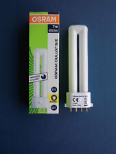 10 x OSRAM - Dulux S/E - 7 Watt/827 Interna - 2G7 (4-pin) - 400 lm