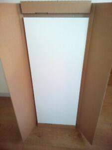 B & Q  Gloss White Kitchen Unit Wall End Panel. 290mm