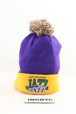 MITCHELL & NESS NEW NBA NEW ORLEAN JAZZ BEANIE ADULTS