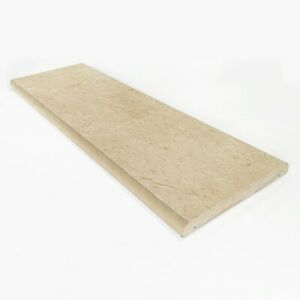 """Porcelain Coping Stone - 150x600mm - 6"""" - Beige - not concrete coping stone"""