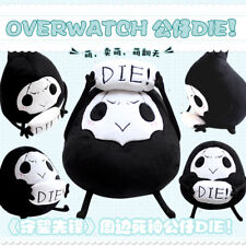 Lovely Plush Toys Doll Stuffed Throw Pillow Game Overwatch Reaper Kids Gift