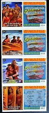 Bay Watch TV Show  Instant Lottery Ticket Set, 4 different