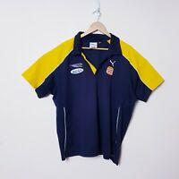 West Coast Eagles Football Club AFL WCE Mens Size 2XL XXL Puma Polo Shirt
