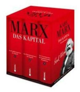 Das Kapital (Vollständige Gesamtausgabe) 3 Bände im Schuber Karl Marx Buch 2020