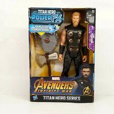"Marvel Avengers Infinity War Titan Hero Series Power FX THOR 12"" Figure * New *"
