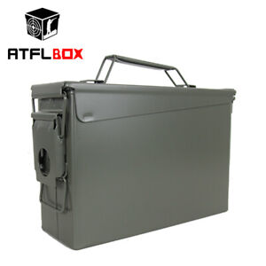 30cal Metal Ammo Can Waterproof All-metal Tools Boxes Bullet Box pellet box