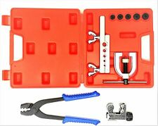 Brake line tool kit(includes inverted flare kit, tube cutter, and tubing pliers)