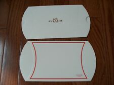 Lots of 2 pcs Coach Gift Boxes, Small Pillow Style