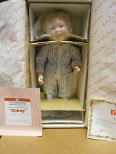 Danbury Mint Porcelain Doll Danny 1993 Linda Tromble Tooth Fairy Visit 13""