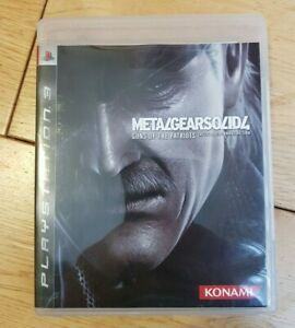 Metal Gear Solid 4 Guns of The Patriots PS3 Limited Edition HONG KONG Version
