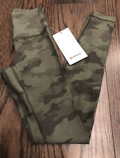 """NWT SOLD OUT Lululemon RARE Size 2 Align HR Pant 28"""" ITGT Green Camo"""