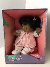 My Child Doll Mattel Vintage 1985 Dark Skin Girl #2516 In Box